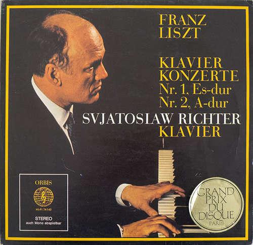 Bild Svjatoslaw Richter*, Franz Liszt - Klavier Konzerte Nr. 1, Es-dur, Nr. 2, A-dur (LP) Schallplatten Ankauf