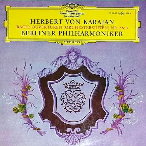 Bild Bach* - Herbert von Karajan, Berliner Philharmoniker - Ouvertüren (Orchestersuiten) Nr. 2 & 3 (LP) Schallplatten Ankauf
