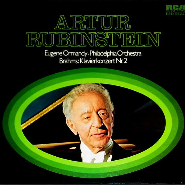 Bild Johannes Brahms - Arthur Rubinstein - Eugene Ormandy - The Philadelphia Orchestra - Konzert Für Klavier Und Orchester Nr.2 B-Dur Op.83 (LP, Album) Schallplatten Ankauf