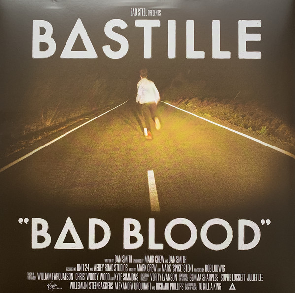 Cover Bastille (4) - Bad Blood (LP, Album) Schallplatten Ankauf