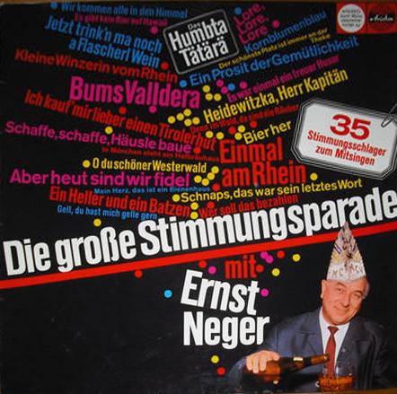 Cover Ernst Neger - Die Große Stimmungsparade (LP) Schallplatten Ankauf