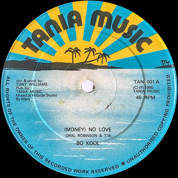 Cover Bo Kool / Funk Masters - (Money) No Love / Love Money (12) Schallplatten Ankauf