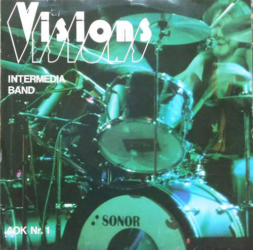 Cover Intermedia-Band / Sound Corporation - Visions / Monday Train (7, Single) Schallplatten Ankauf