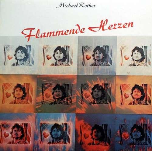 Cover zu Michael Rother - Flammende Herzen (LP, Album, RP) Schallplatten Ankauf