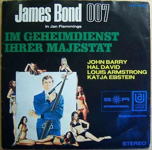 Bild John Barry, Katja Ebstein - Im Geheimdienst Ihrer Majestät (7, EP) Schallplatten Ankauf