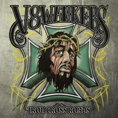 Cover V8Wankers - Iron Crossroads (2xLP, Album, Gat) Schallplatten Ankauf