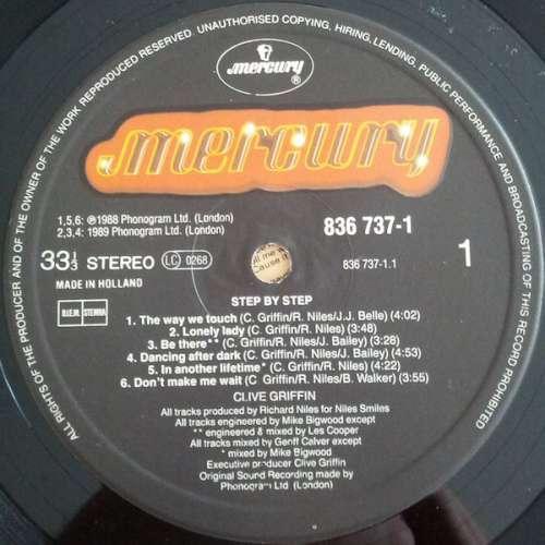 Bild Clive Griffin - Step By Step (LP) Schallplatten Ankauf