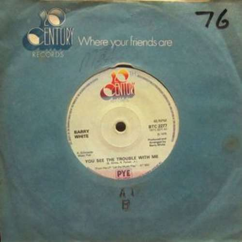 Bild Barry White - You See The Trouble With Me (7, Single, Sol) Schallplatten Ankauf