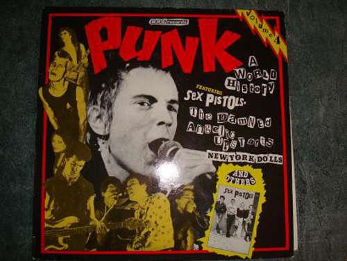 Cover Various - Punk - A World History - Volume 4 (LP, Comp) Schallplatten Ankauf