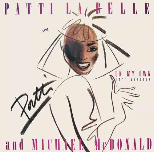 Cover Patti LaBelle And Michael McDonald - On My Own (12) Schallplatten Ankauf