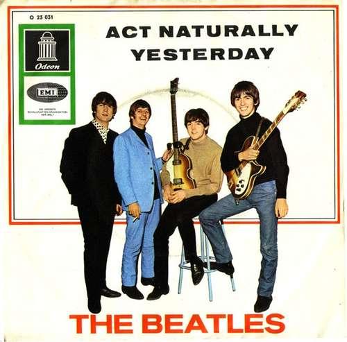 Bild The Beatles - Act Naturally / Yesterday (7, Single) Schallplatten Ankauf