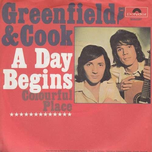 Bild Greenfield & Cook - A Day Begins (7, Single) Schallplatten Ankauf