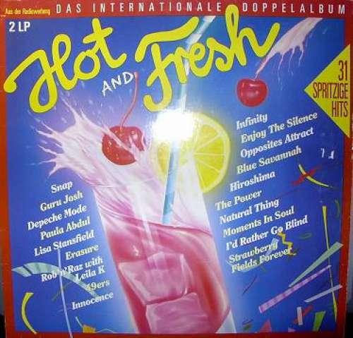 Bild Various - Hot And Fresh - Das Internationale Doppelalbum (2xLP, Comp) Schallplatten Ankauf