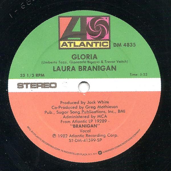 Bild Laura Branigan - Gloria (12) Schallplatten Ankauf