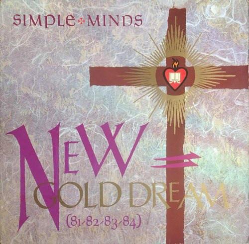 Cover Simple Minds - New Gold Dream (81-82-83-84) (LP, Album) Schallplatten Ankauf