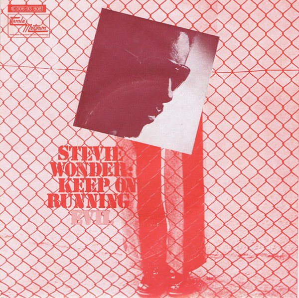 Cover Stevie Wonder - Keep On Running (7, Single) Schallplatten Ankauf