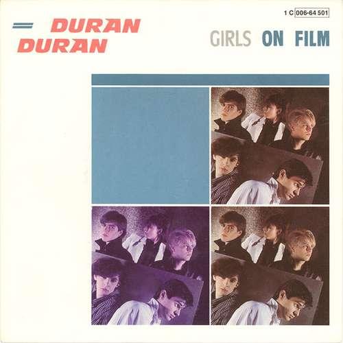 Cover Duran Duran - Girls On Film (7, Single) Schallplatten Ankauf