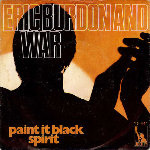 Bild Eric Burdon And War* - Paint It Black / Spirit (7, Single) Schallplatten Ankauf
