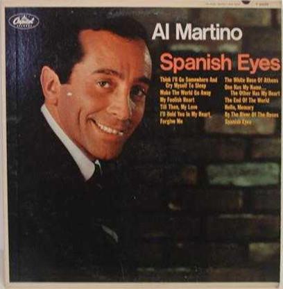 Cover Al Martino - Spanish Eyes (LP, Mono) Schallplatten Ankauf