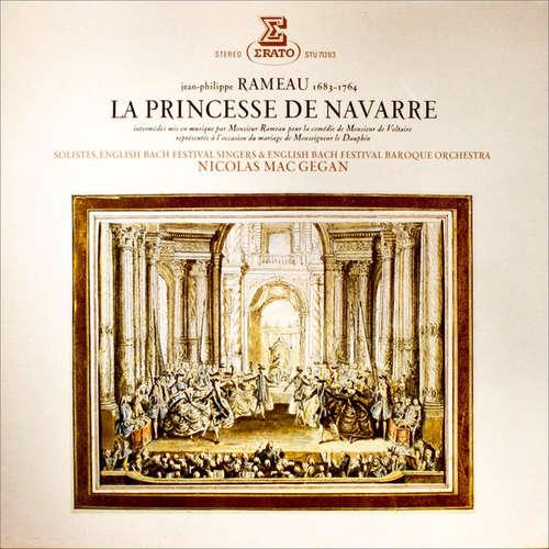 Cover Jean-Philippe Rameau - English Bach Festival Singers*, English Bach Festival Baroque Orchestra, Nicolas MacGegan* - La Princesse De Navarre (LP) Schallplatten Ankauf