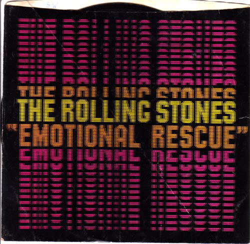 Cover The Rolling Stones - Emotional Rescue (7, Single, Spe) Schallplatten Ankauf