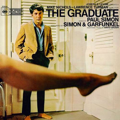 Cover zu Paul Simon, Simon & Garfunkel, David Grusin* - The Graduate (The Original Soundtrack Recording) (LP, Album) Schallplatten Ankauf