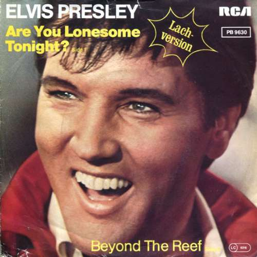 Cover Elvis Presley - Are You Lonesome Tonight? (Lach-Version) (7, Single, Ora) Schallplatten Ankauf