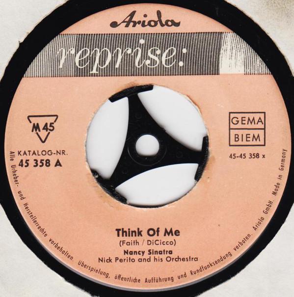 Bild Nancy Sinatra - Think Of Me / Like I Do (7, Single) Schallplatten Ankauf