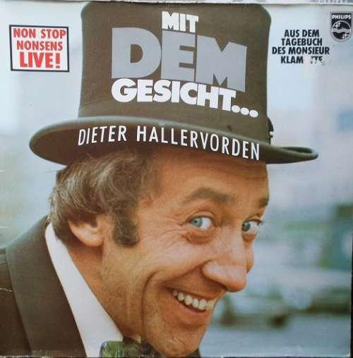 Cover zu Dieter Hallervorden - Mit Dem Gesicht... (LP, Album) Schallplatten Ankauf