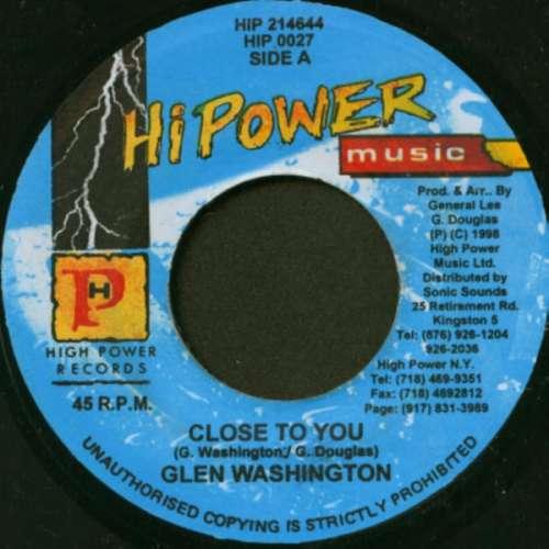 Bild Glen Washington - Close To You (7) Schallplatten Ankauf