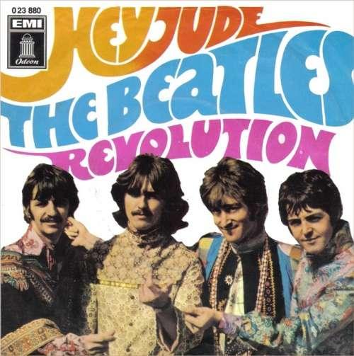Cover The Beatles - Hey Jude / Revolution (7, Single, Mono) Schallplatten Ankauf