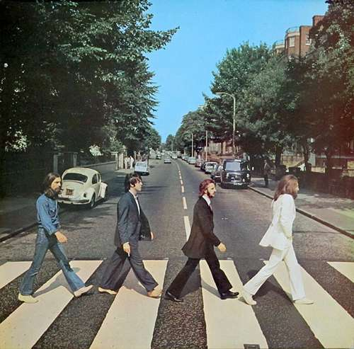 Cover The Beatles - Abbey Road (LP, Album) Schallplatten Ankauf