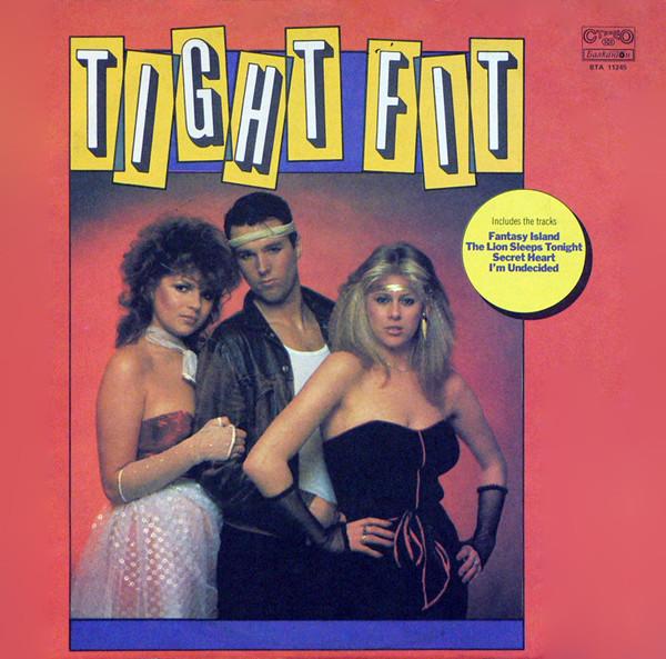 Cover Tight Fit - Tight Fit (LP, Album, Red) Schallplatten Ankauf