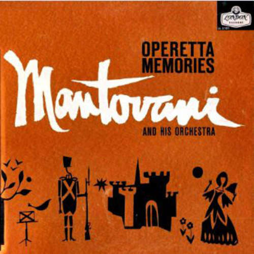 Bild Mantovani And His Orchestra - Operetta Memories (LP, Album) Schallplatten Ankauf