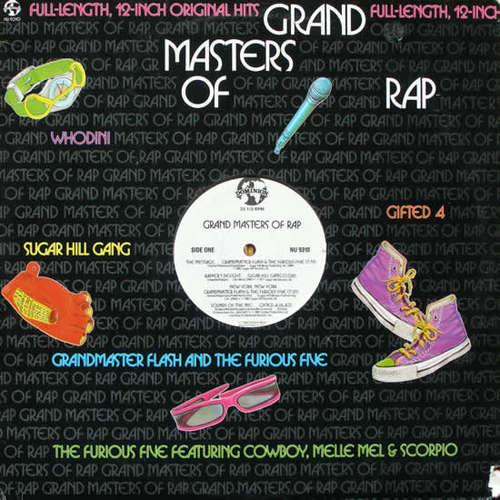 Cover Various - Grand Masters Of Rap (LP, Comp) Schallplatten Ankauf