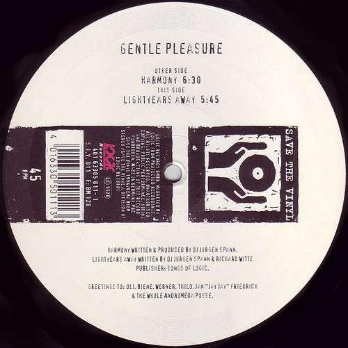Bild Gentle Pleasure - Harmony (12) Schallplatten Ankauf