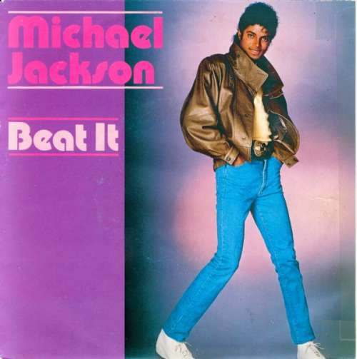 Cover zu Michael Jackson - Beat It (7, Single) Schallplatten Ankauf