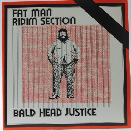 Cover Fat Man Ridim Section* - Bald Head Justice (LP, Album, Yel) Schallplatten Ankauf