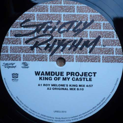 Cover Wamdue Project - King Of My Castle (12) Schallplatten Ankauf