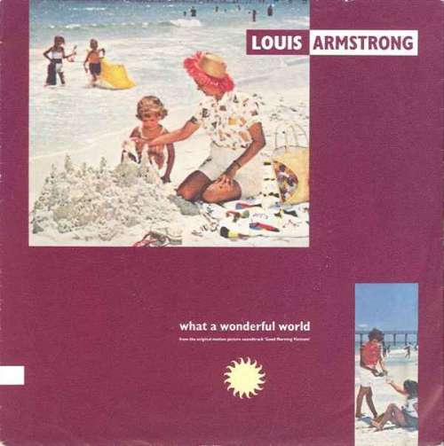 Bild Louis Armstrong / Wayne Fontana & The Mindbenders - What A Wonderful World / Game Of Love (7, Single) Schallplatten Ankauf