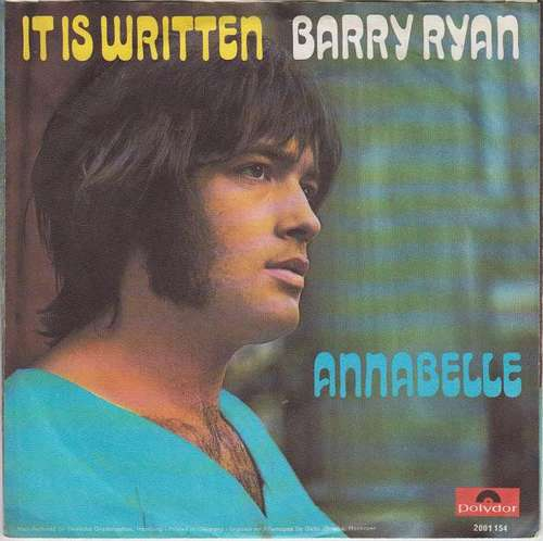 Bild Barry Ryan - It Is Written (7, Single) Schallplatten Ankauf
