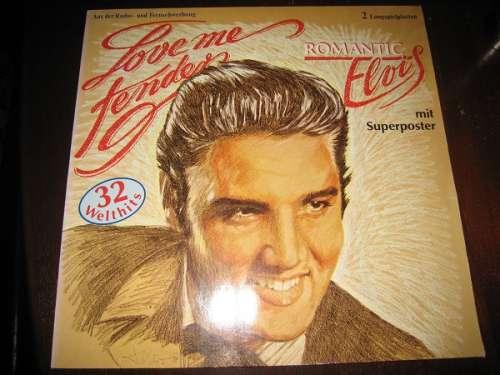 Cover Elvis Presley - Love Me Tender   Romantic Elvis (2xLP, Comp) Schallplatten Ankauf