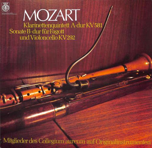 Cover Mozart* - Mitglieder Des Collegium Aureum Auf Originalinstrumenten*, Franzjosef Maier - Klarinettenquintett A-Dur KV 581 - Sonate Für Fagott Und Violoncello B-Dur KV 292 (LP) Schallplatten Ankauf