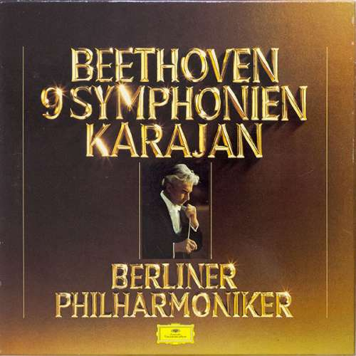Cover zu Beethoven* / Karajan*, Berliner Philharmoniker - 9 Symphonien (Box + 8xLP, Clu) Schallplatten Ankauf