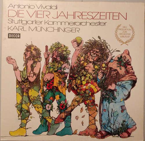 Bild Antonio Vivaldi - Stuttgarter Kammerorchester, Karl Münchinger - Die Vier Jahreszeiten (LP) Schallplatten Ankauf