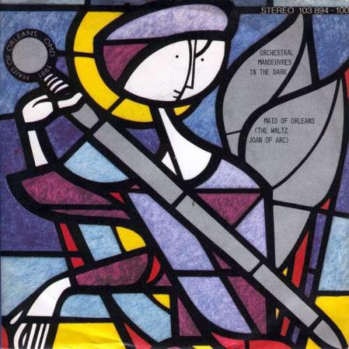 Cover zu Orchestral Manoeuvres In The Dark - Maid Of Orleans (The Waltz Joan Of Arc) (7, Single, Sil) Schallplatten Ankauf