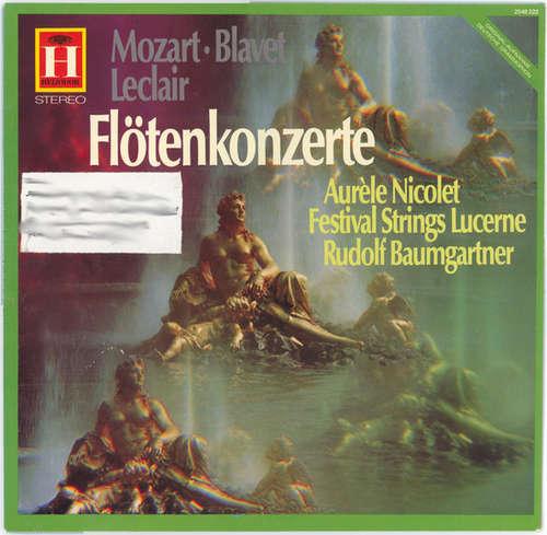 Bild Wolfgang Amadeus Mozart, Michel Blavet, Jean-Marie Leclair - Flötenkonzerte (LP, RE) Schallplatten Ankauf