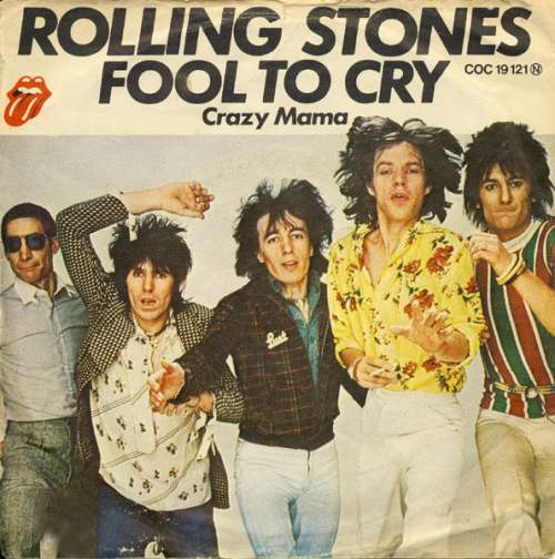 Cover The Rolling Stones - Fool To Cry (7, Single) Schallplatten Ankauf