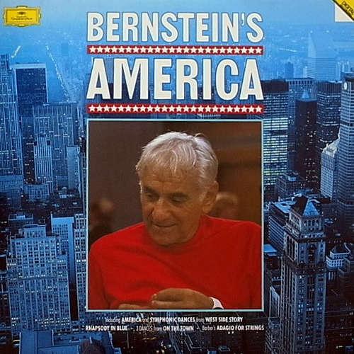 Bild Various - Bernstein's America (2xLP, Comp, RE) Schallplatten Ankauf