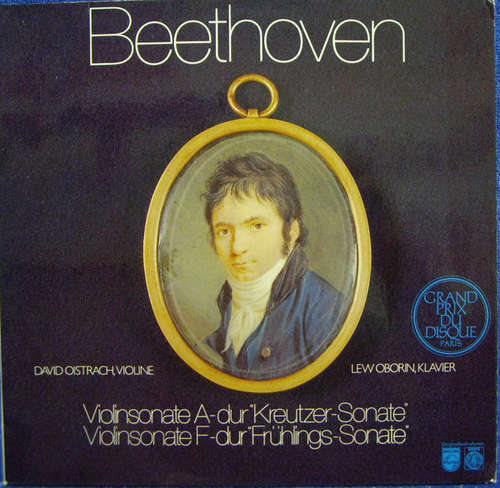 Bild Beethoven*, David Oistrach, Lev Oborin - Violinsonate A-dur Kreutzer-Sonate • Violinsonate F-dur Frühlings-Sonate (LP) Schallplatten Ankauf